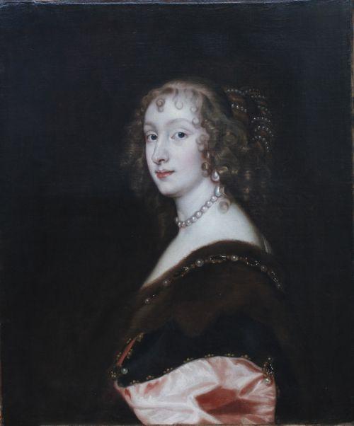 portrait of mary lady killigrew c1637 studio of sir anthony van dyck