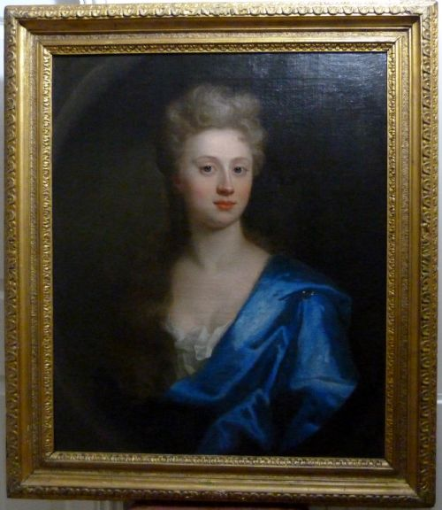 Thumbnail picture of: Portrait of Mary Hume c.1735; Attributed to Thomas Murray