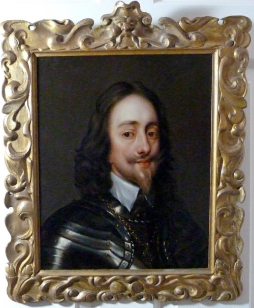 Thumbnail picture of: Portrait of Charles I c.1640; Attributed to Remigius van Leemput.