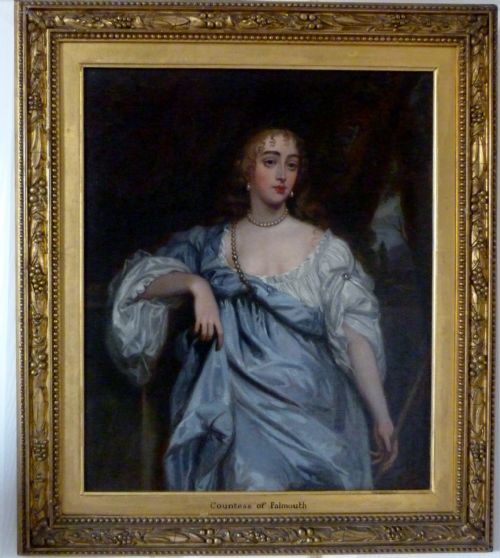 Thumbnail picture of: Portrait of Mary Bagot, Countess of Falmouth and Dorset; after Lely.