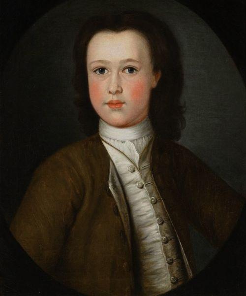 portrait of a boy of the crawleyboevey family of flaxley abbey c1780 english school