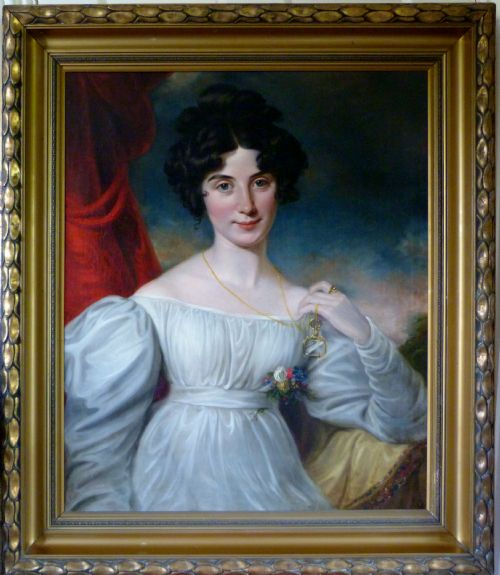 Thumbnail picture of: Portrait of Julia Floyd, later Lady Peel c.1820; Circle of Sir Thomas Lawrence.