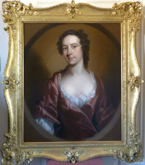 Thumbnail picture of: Portrait of a Lady c.1740; Circle of Allan Ramsay.