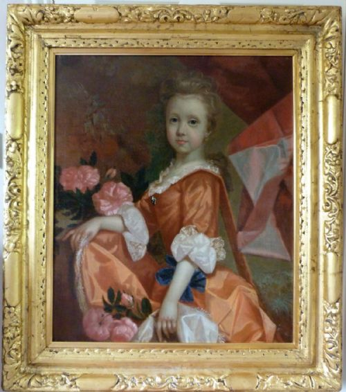 Thumbnail picture of: Portrait of Mary Finch c. 1702; Attributed to Robert Byng.
