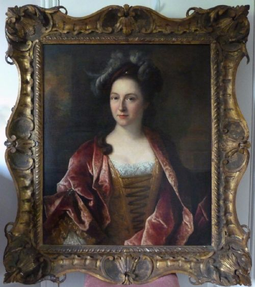 Thumbnail picture of: Portrait of a Lady c.1750; Attributed to Joseph Highmore.