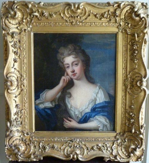 Thumbnail picture of: PORTRAIT OF A YOUNG LADY C. 1690/1710; CIRCLE OF KNELLER.