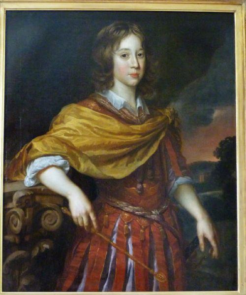 Thumbnail picture of: Portrait of Charles (Karl) Emil,  Prince Elect of Brandenburg c.1667-70, by  Paulus  van der Stock after Johannes Mijtens (Jan Mytens).