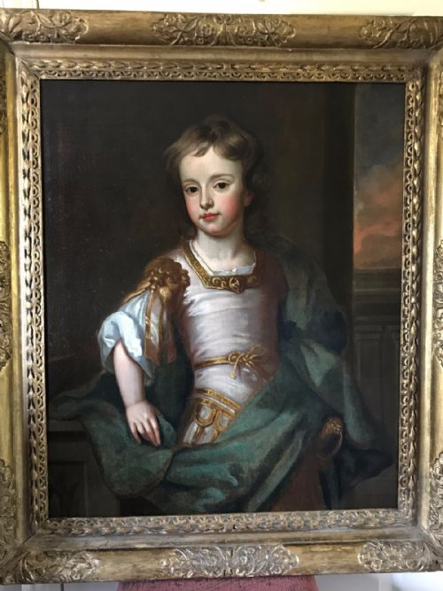 Thumbnail picture of: Portrait of James Cecil, 5th Earl of Salisbury, 1695; Studio of Kneller.