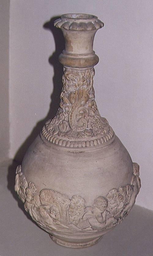 classically decorated vase c 1850