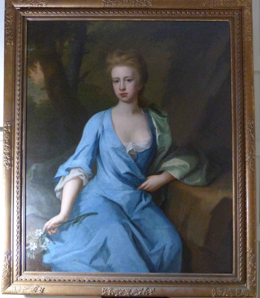 portrait of lady anne campbell c1715 by michael dahl