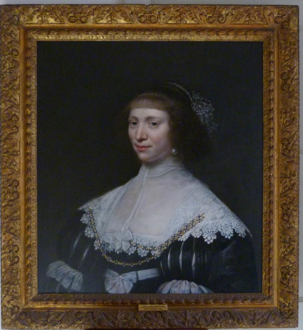 portrait of a lady 1631 by jan van ravesteyn