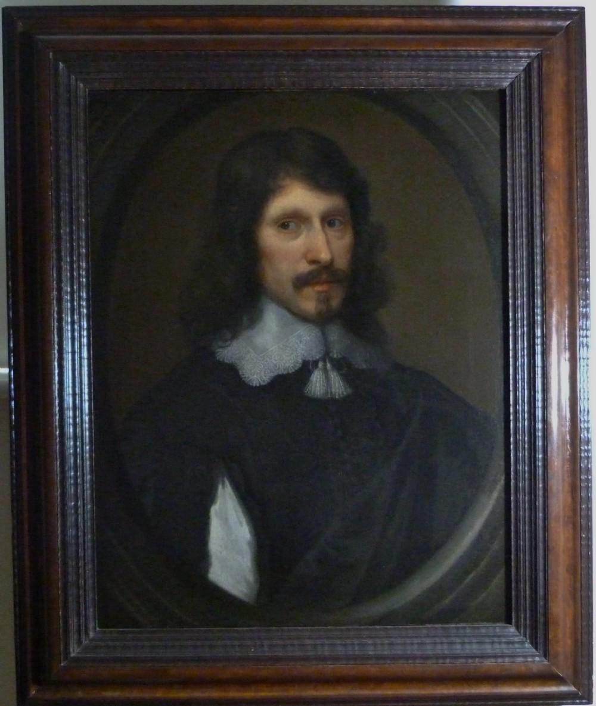portrait of a gentleman c1650 circle of cornelius johnson