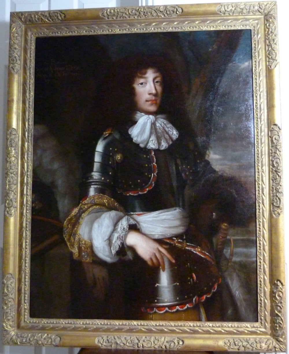 portrait of james fitzjames duke of berwick c1690 studio of john michael wright