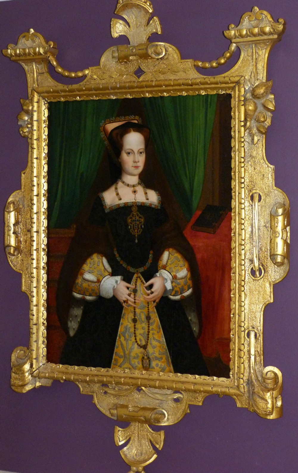 portrait of queen mary i manner of guillim scrots