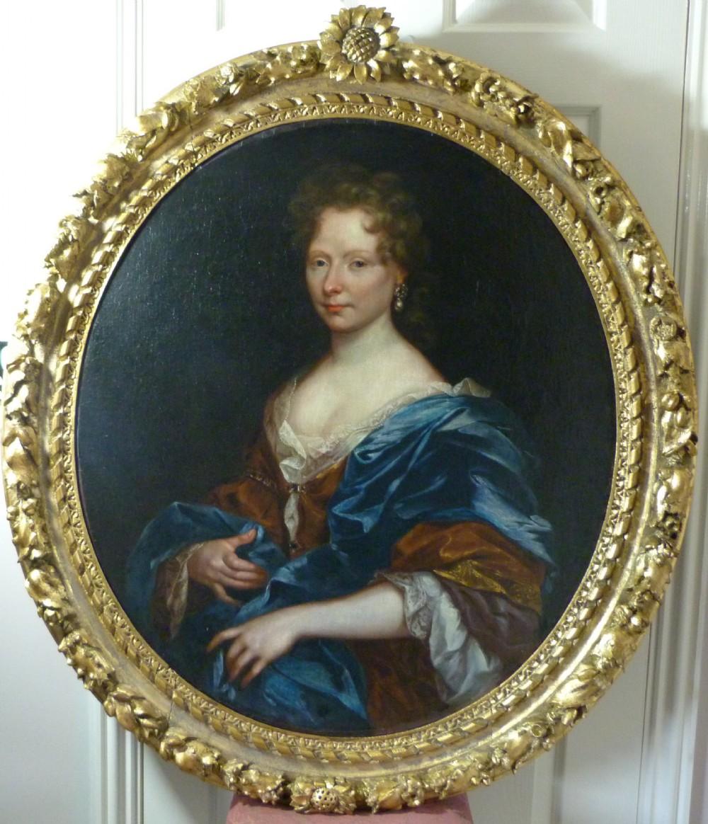 portrait of a lady c1685 circle of adriaen hanneman