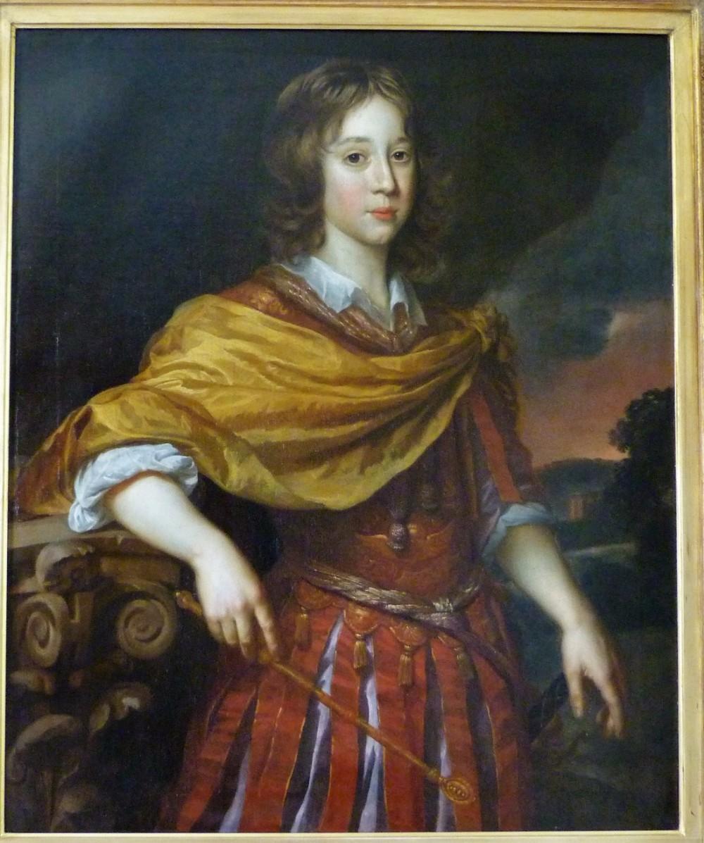 portrait of charles karl emil prince elect of brandenburg c166770 by paulus van der stock after johannes mijtens jan mytens