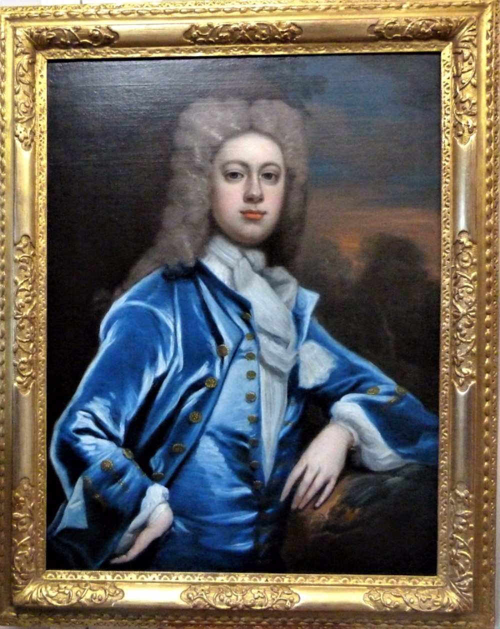 portrait of a member of the haworth family c1725 circle of jonathan richardson