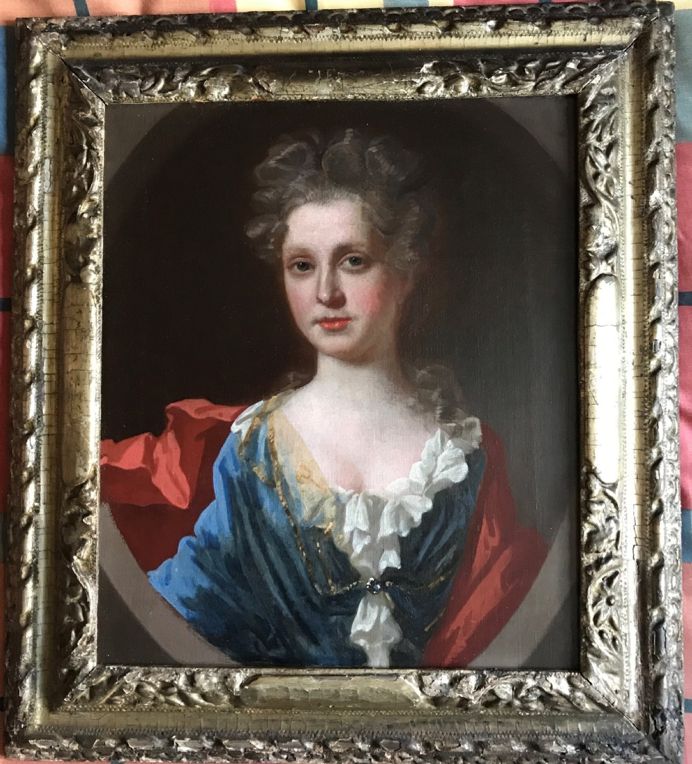 portrait of a lady c1700 circle of kneller