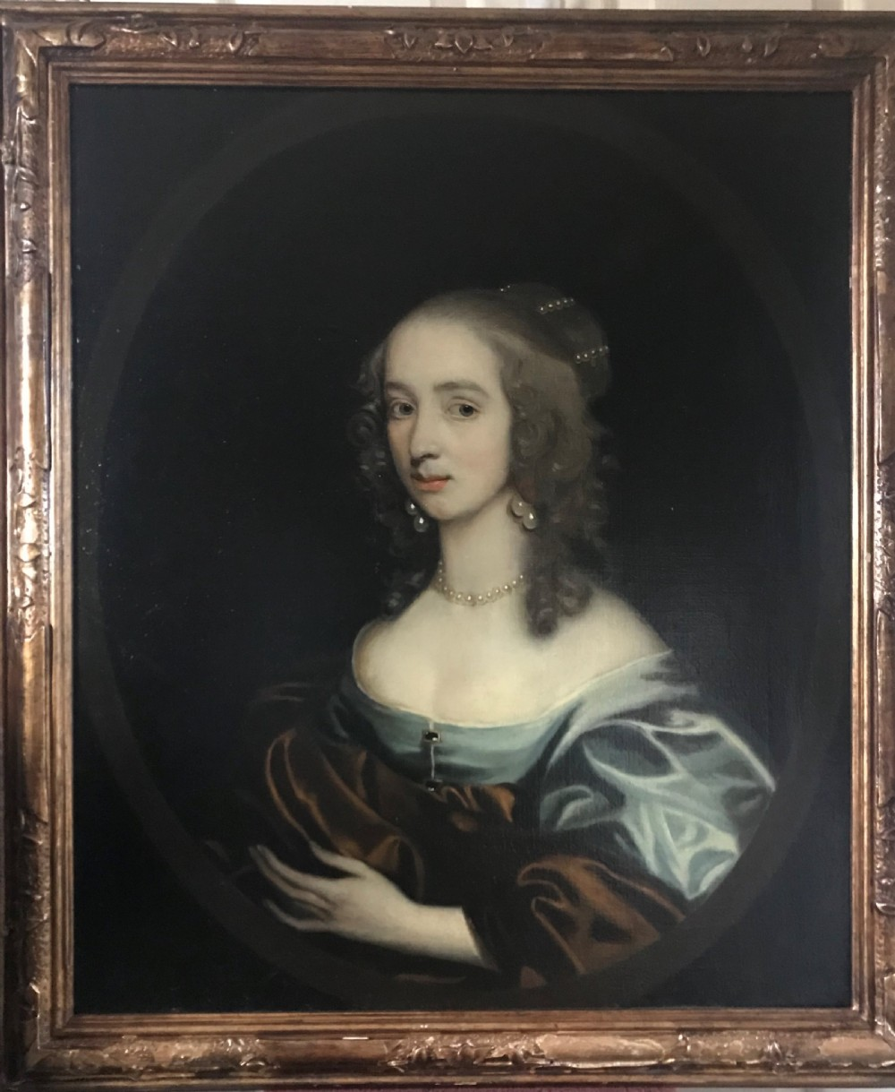 portrait of anne viscountess bayning c1640 circle of gerard soest