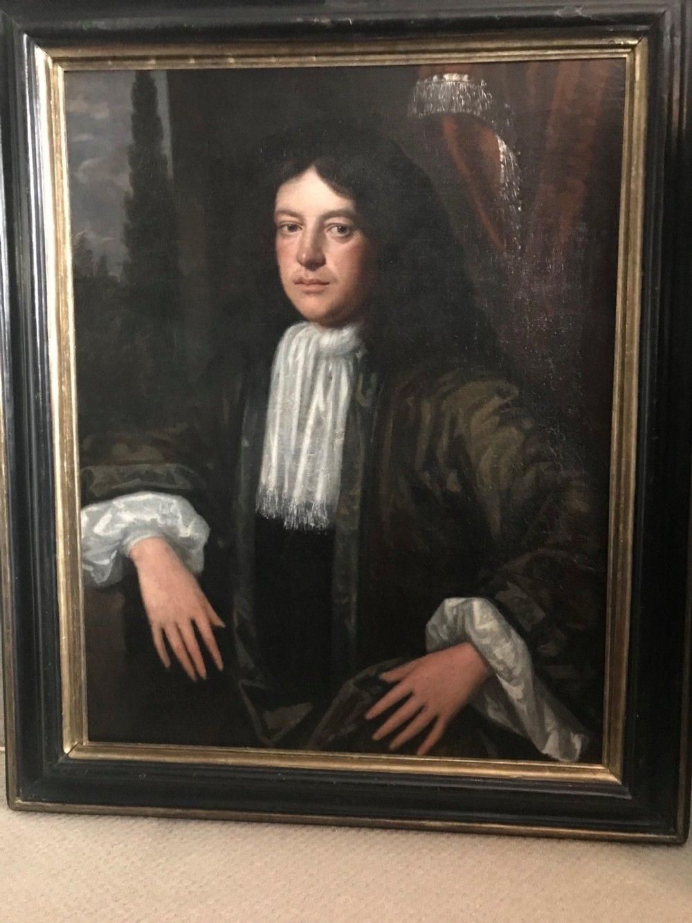portrait of a gentleman c1680 circle of john michael wright
