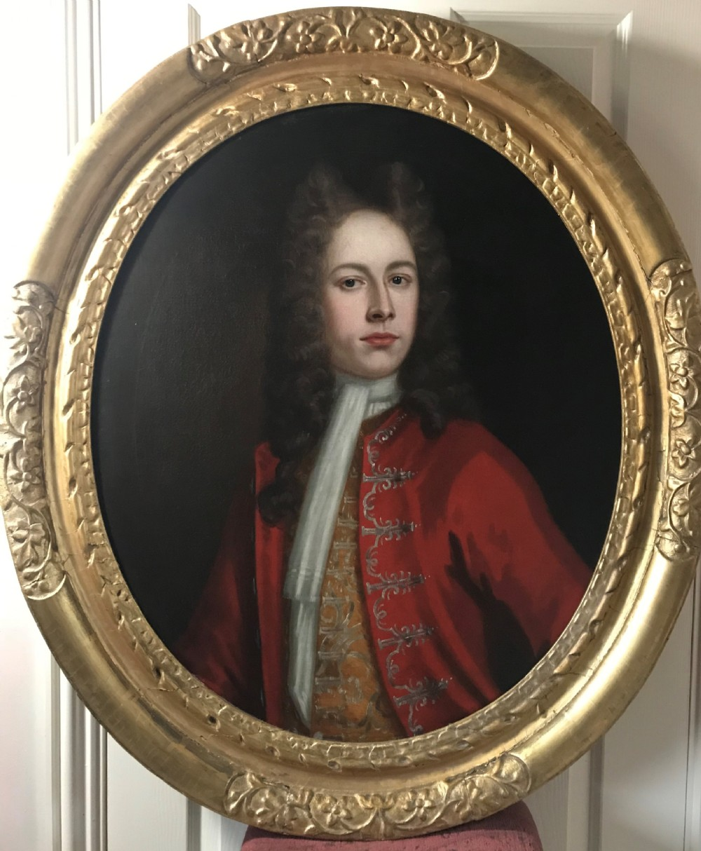 portrait of a gentleman c1720 attributed to william aikman