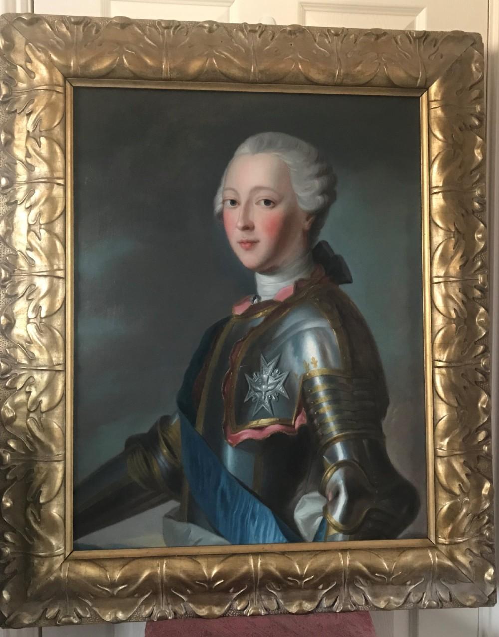 portrait of louisjeanmarie de bourbon duc de penthivre c1745 circle of maurice de la tour