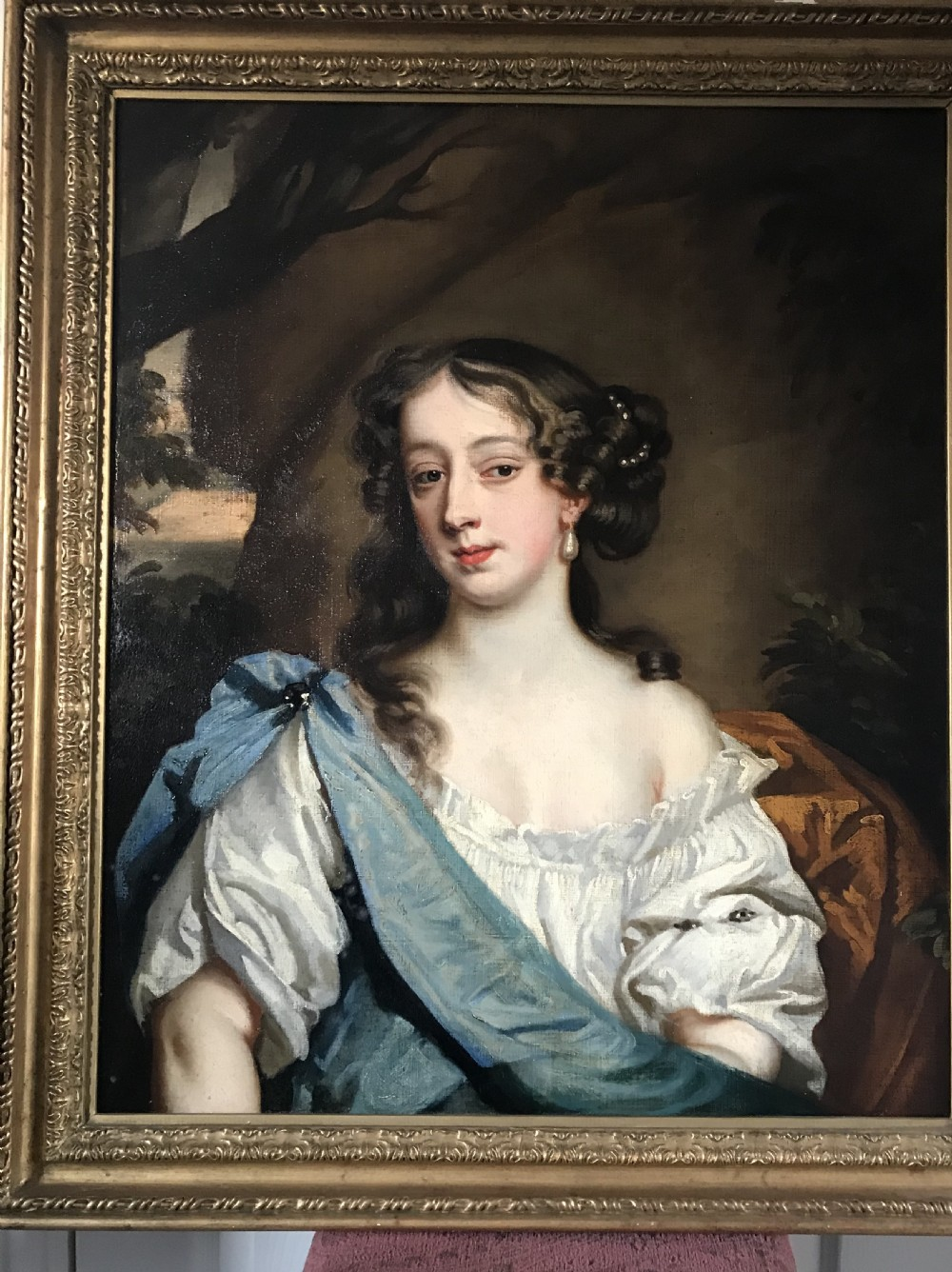 portrait of barbara villiers duchess of cleveland c1665 studio or circle of lely