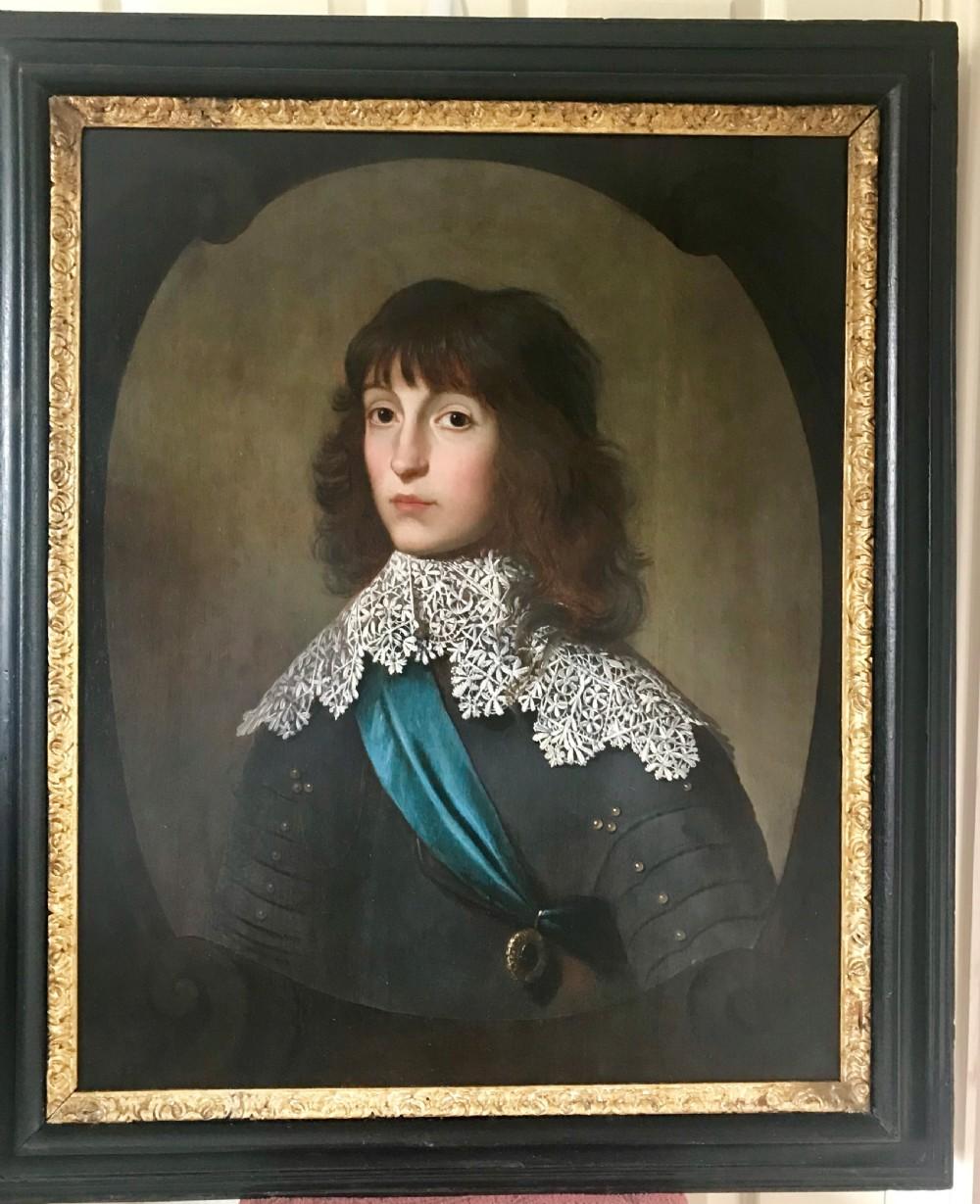 portrait of charles louis karl ludwig prince palatine c1635 studio of gerrit van honthorst