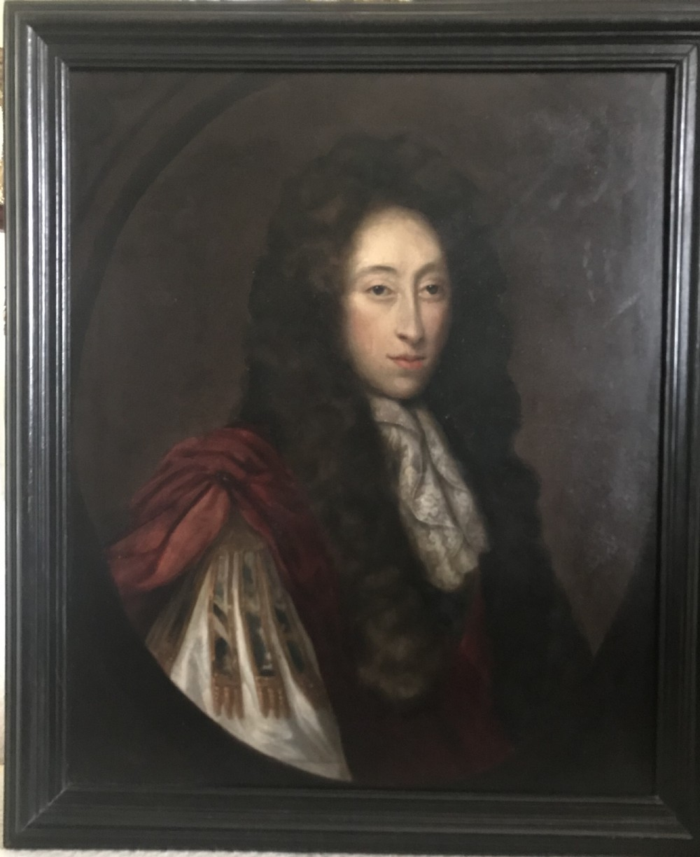 portrait of a gentleman c1680 follower of john michael wright