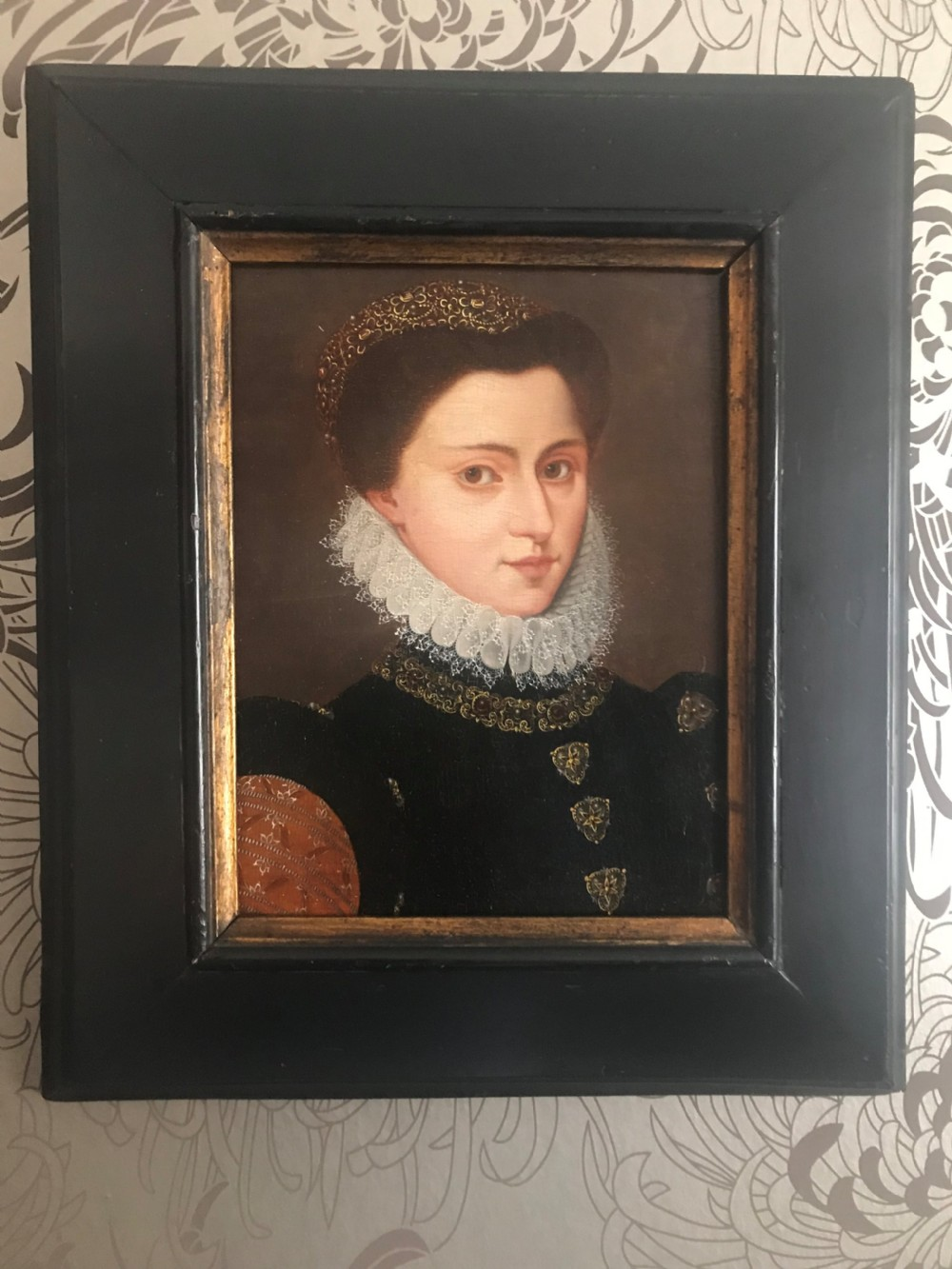 portrait of a noblewoman possibly mary queen of scots manner of francois clouet