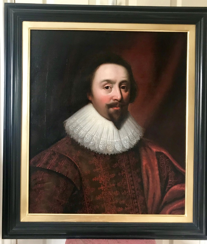 portrait of a gentleman c 1630 studio or circle of daniel mytens