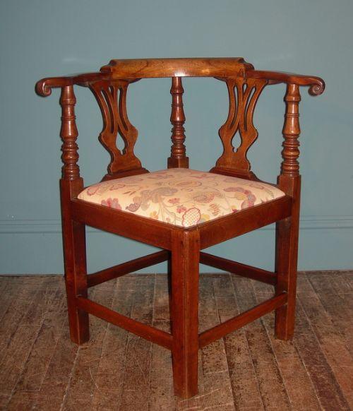 georgian corner chair 208296