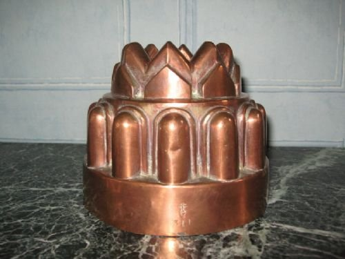 Victorian Copper Jelly Mould By Benhams 130404 Sellingantiques Co Uk
