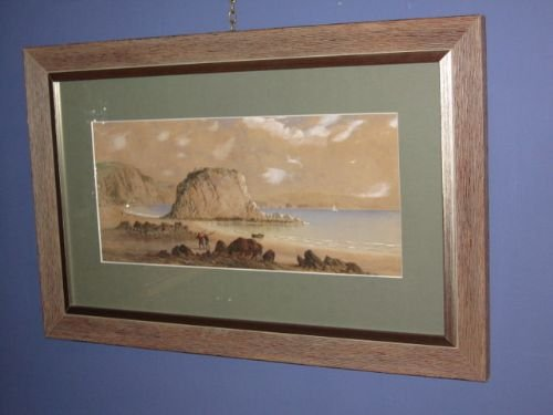 coastal watercolour by george lothian hall