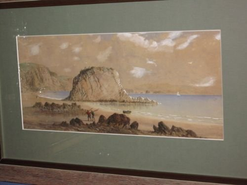 coastal watercolour by george lothian hall - photo angle #2