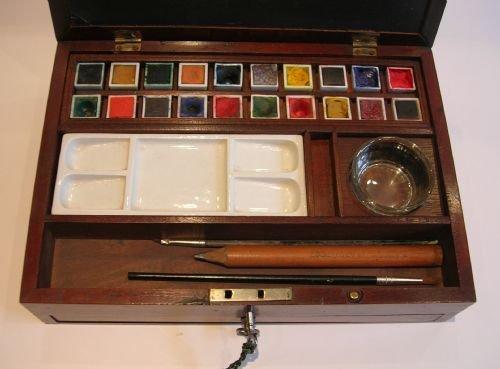 Antique English Winsor Amp Newton Watercolour Artist S