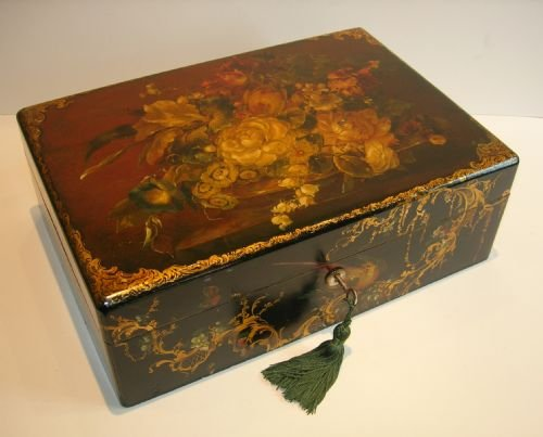 how to make paper mache jewelry boxes