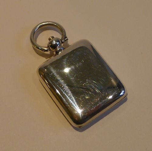 victorian sterling silver postage stamp case sovereign case action 1891 - photo angle #2