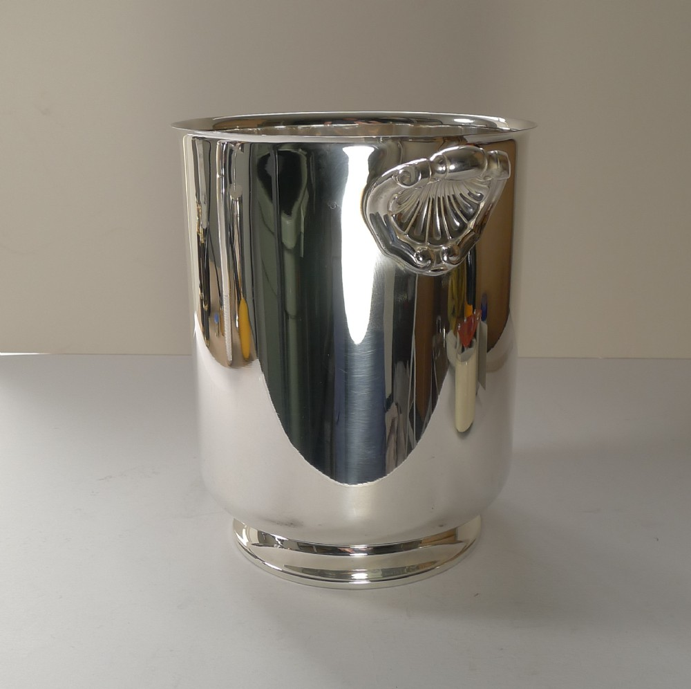 christofle gallia champagne bucket wine cooler