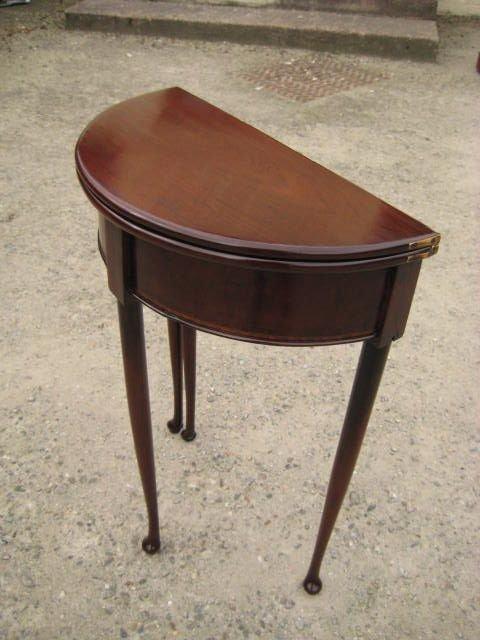 mahogany hall table 158331