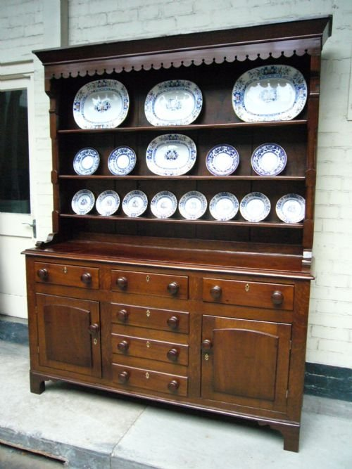 mahogany and oak welsh dresser c1880. Mahogany And Oak Welsh Dresser C1880    22037   Sellingantiques co uk