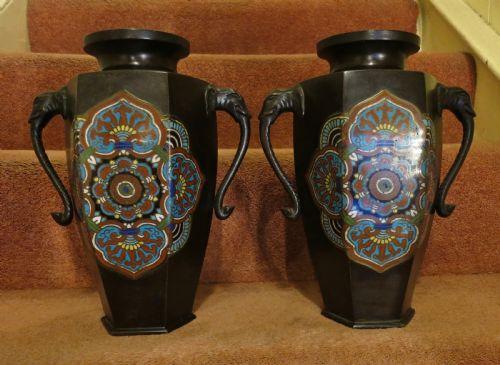Antique Metal Vases The Uks Largest Antiques Website