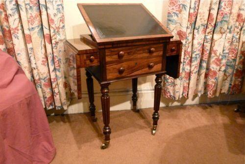 rosewood writingsewingwork table