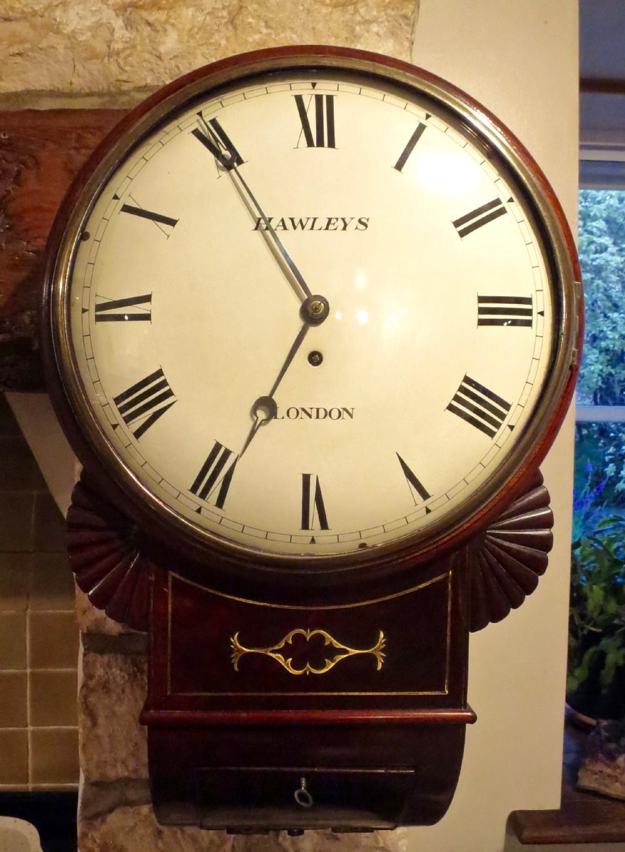regency londonmade dropdial wall clock