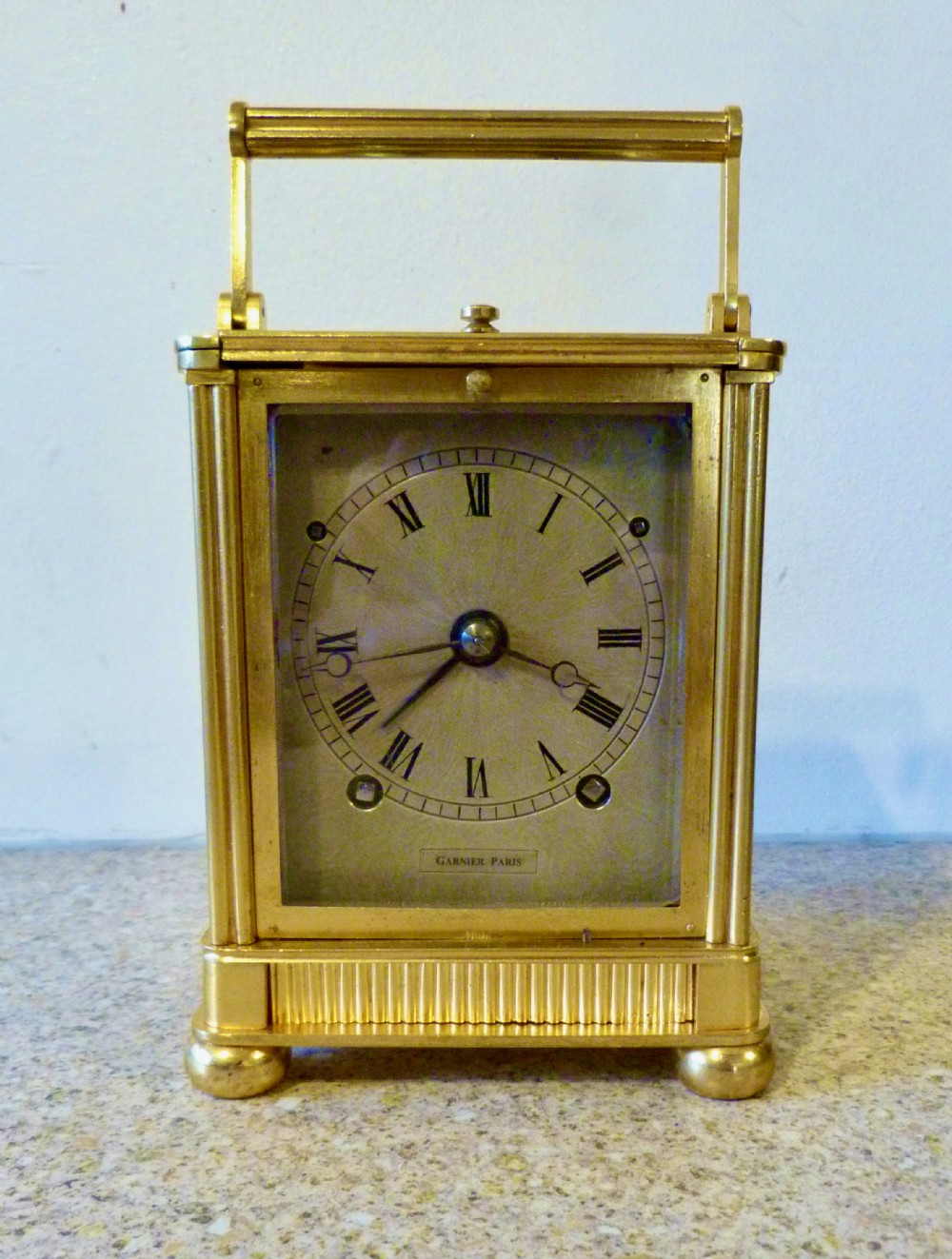 early french carriage clock by garnier