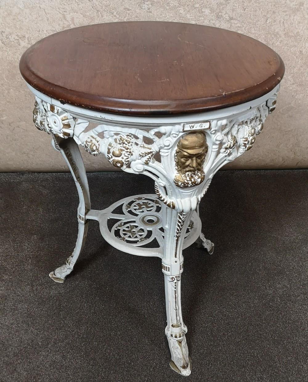 wggrace victorian cast iron pub table