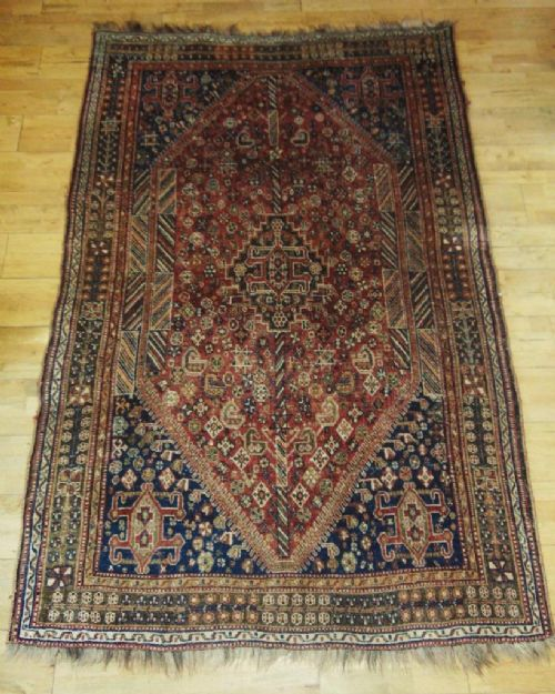antique south west persian kashgai rug carpet