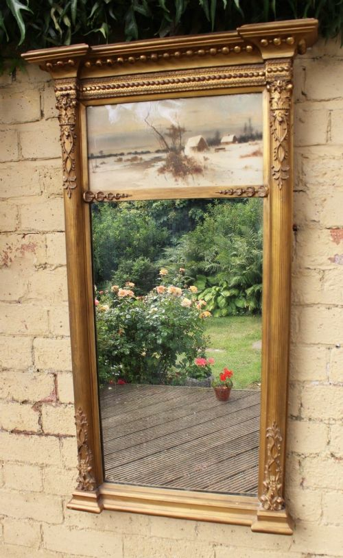 large regency pier glass mirror