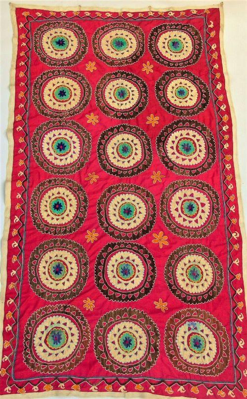 beautiful suzani wall hanging tapestry embroidery