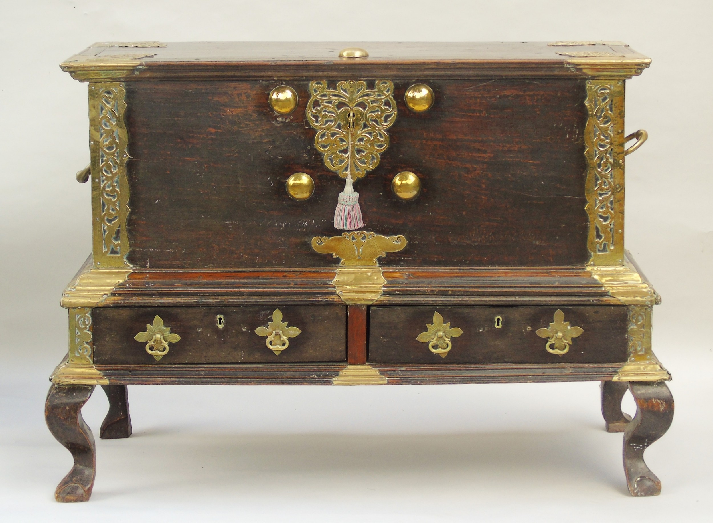 19th century zanzibar chest on stand